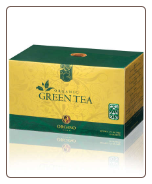 OG Organic Green Tea   25 Sachets per Box